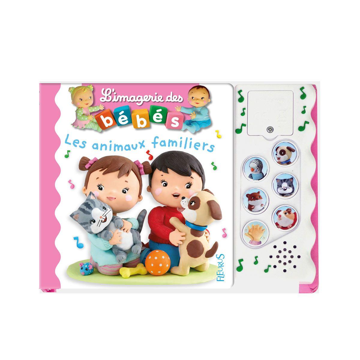 Livre Sonore Les Animaux Familiers Imagerie Des Bebes Sonore