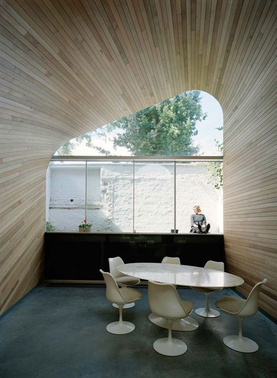 Amazing Wooden House Terrace
