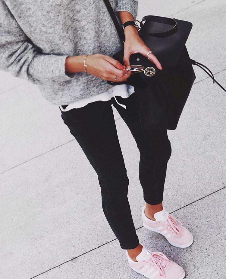 Pinterest @jesspepinn   Fashion, Adidas women, Pink adidas