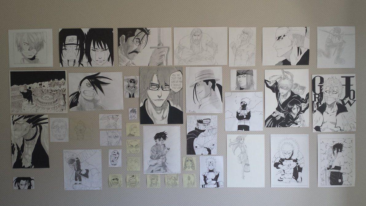 wall manga drawingleboubou | mangaanime | pinterest | manga
