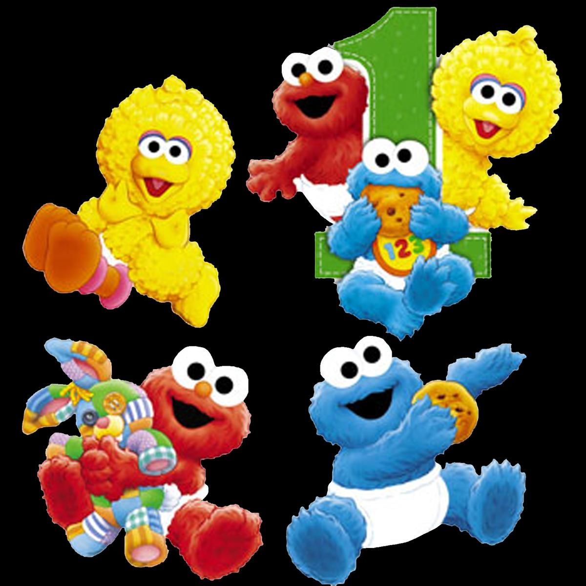 I Love The Baby Sesame Street Characters