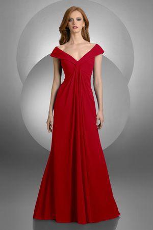 Vestito rosso da cerimonia
