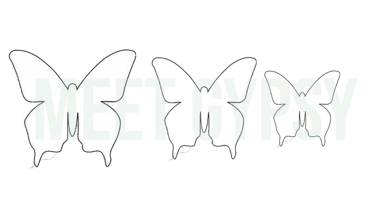 Moldes Para Lazos De Foamy: #Moldes Para Crear Hermosas #mariposas Utilizando #gomaeva