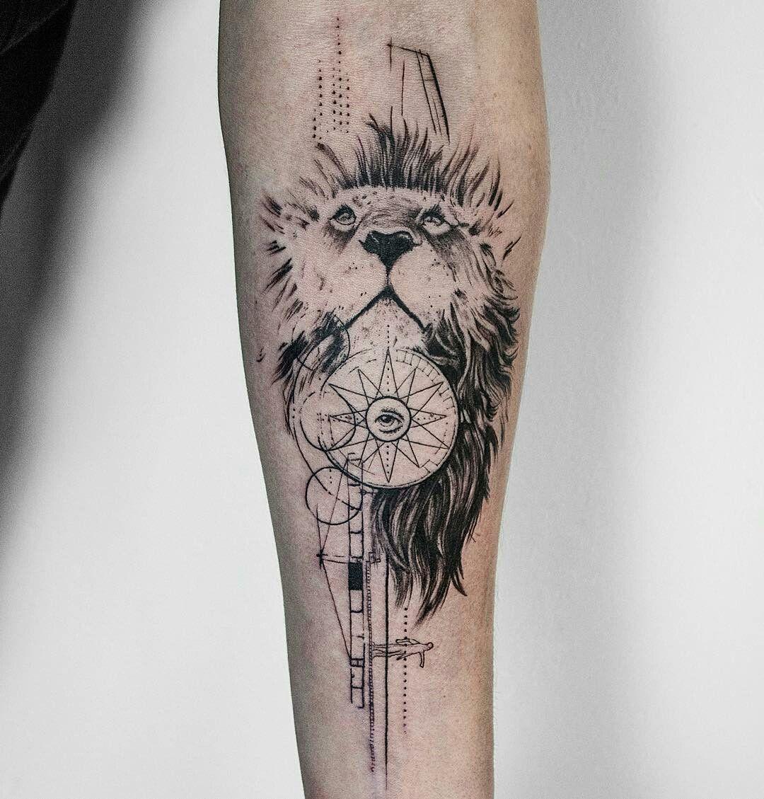 tattoo done by koittattoo leon lion liontattoo tatuajes abstractos pinterest lions. Black Bedroom Furniture Sets. Home Design Ideas