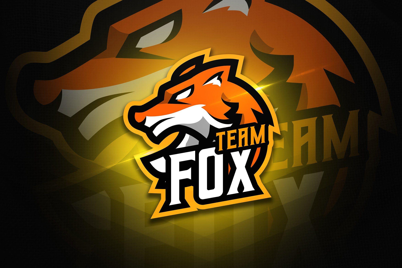 Fox Team Mascot Esport Logo Fox Logo Design Mascot Team Mascots