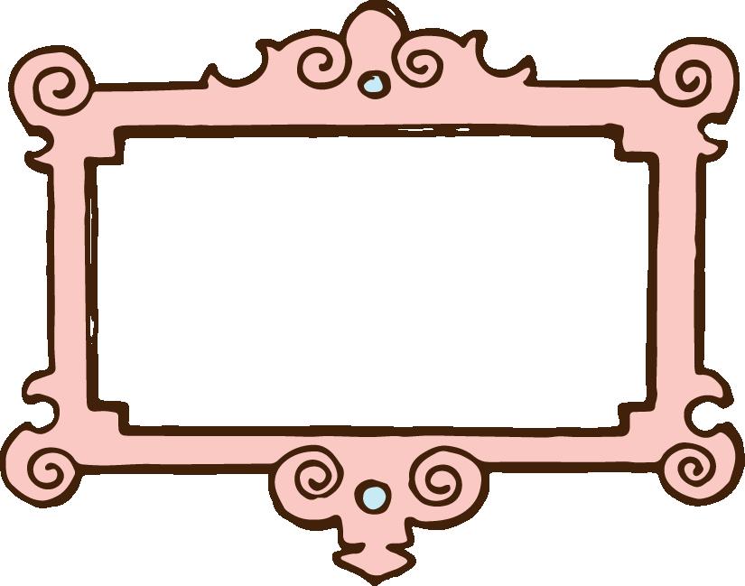Cute vintage frames clipart png | Borders/Frames | Pinterest