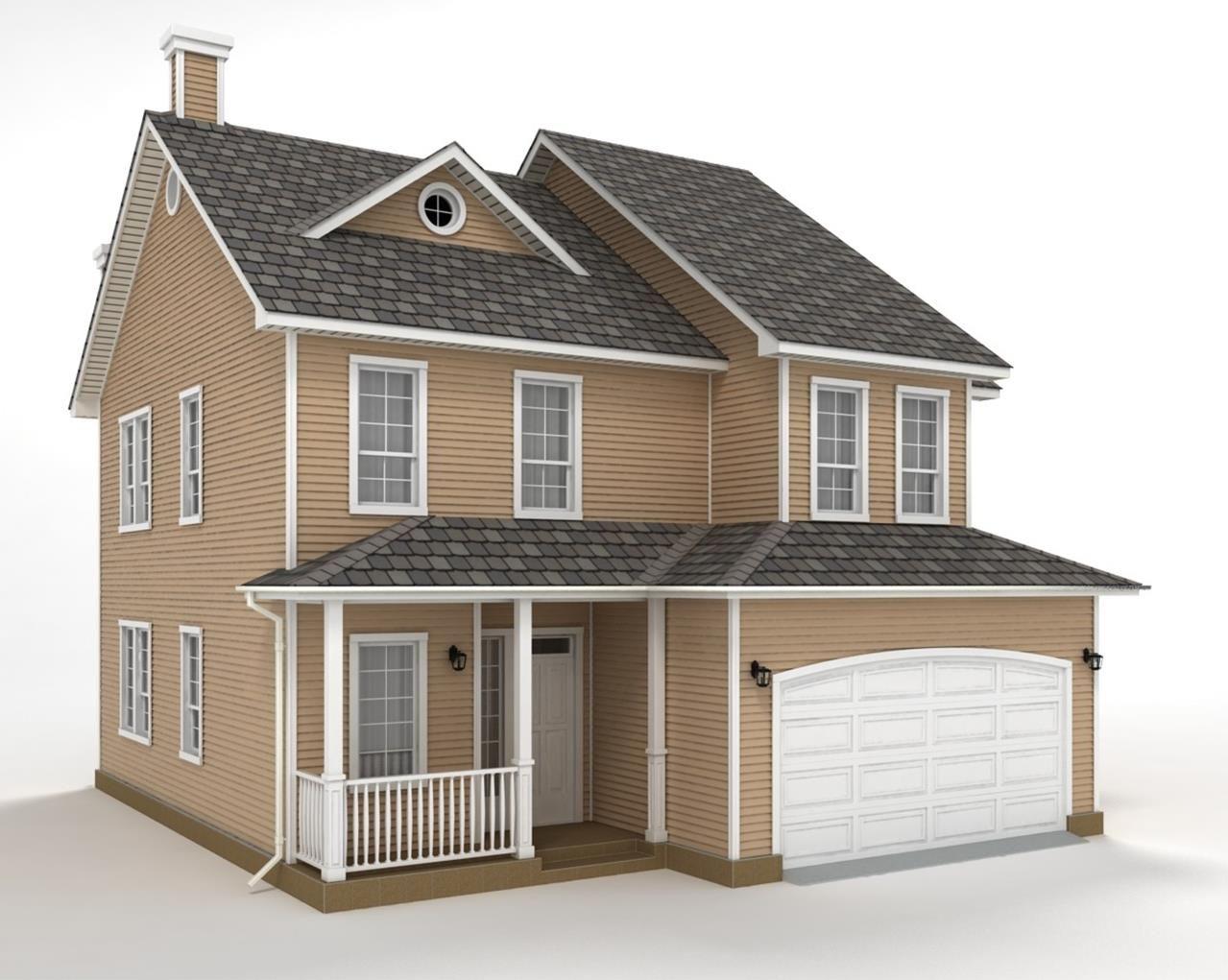 Projeto casa em 3d projetos em 3d pinterest for Casas 3d