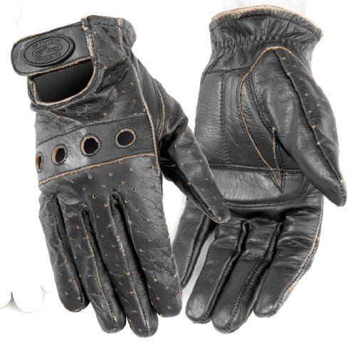Pin On Vintage Motorcycle Gloves
