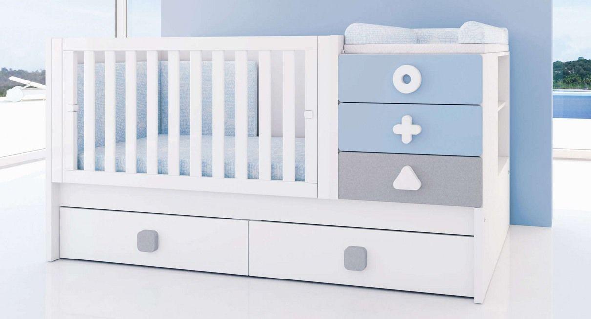 Cunas convertibles modernas y originales colección MATHS para bebés ...