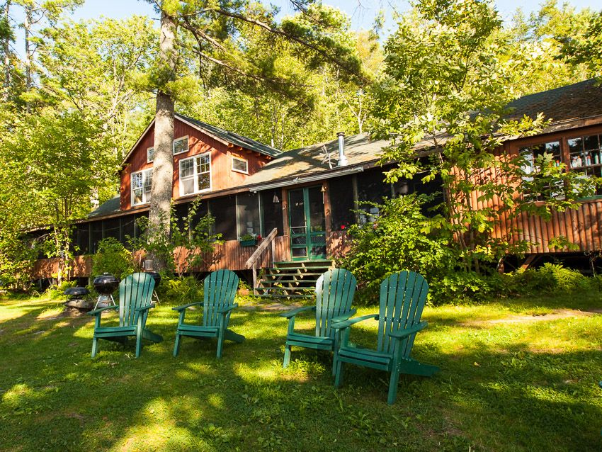 Magnificent Sunset Lodge Damariscotta Lake Maine Vacation Rental Home Remodeling Inspirations Cosmcuboardxyz
