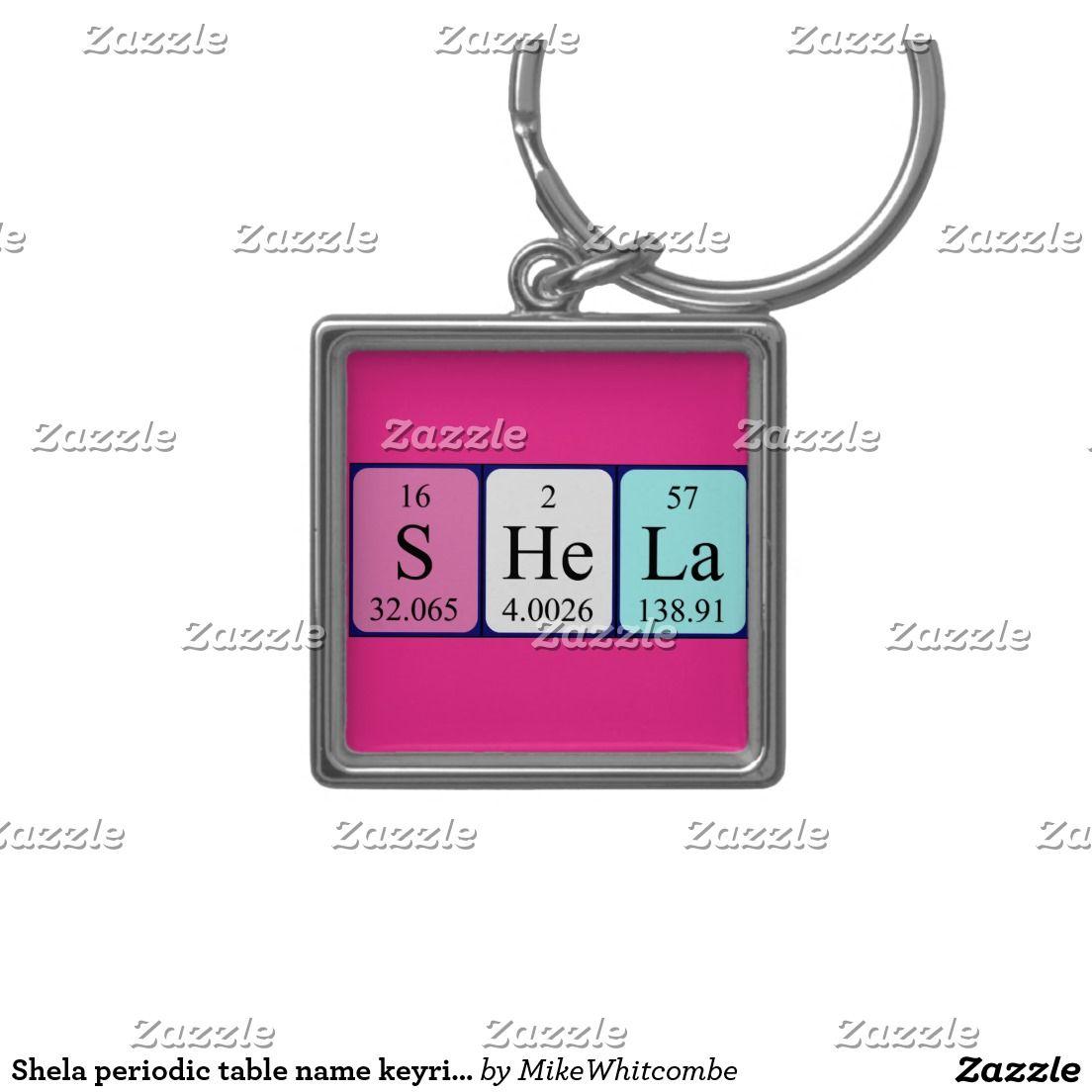 Shela periodic table name keyring periodic table shela periodic table name keyring urtaz Gallery