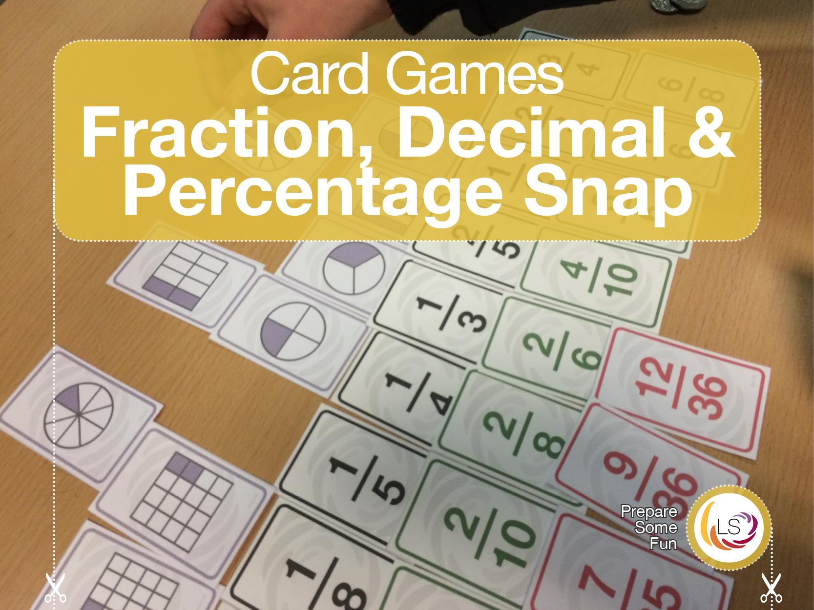 Fractions Decimals Amp Percentages