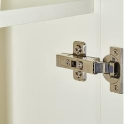 Photo of Wardrobe 1 door – white – 67 cm – 210 cm – 40 cm – cupboards> wardrobes> revolving door cupboard