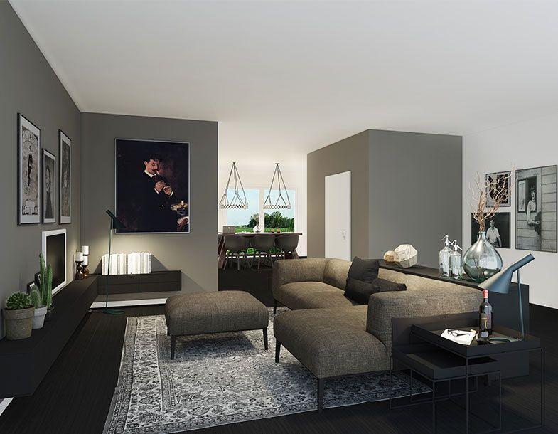 Musikanlage wohnzimmer ~ Beamer im wohnzimmer indirekte beleuchtung glänzende wand licht