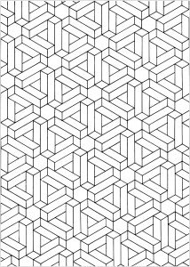 Optical Illusions Op Art Coloring Pages For Adults Pattern Coloring Pages Optical Illusions Zentangle Patterns