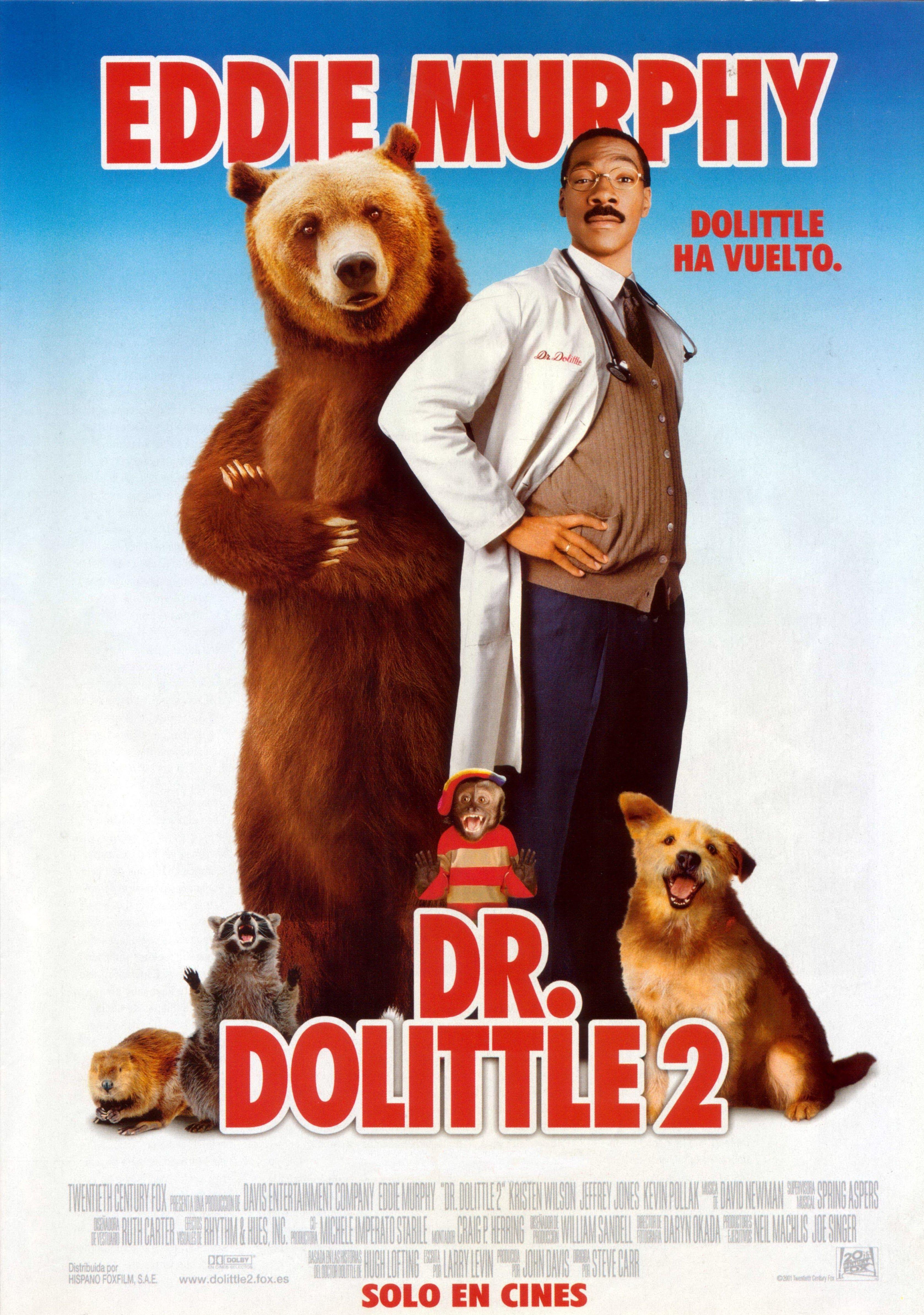 Dr Dolittle 2 Peliculas Cine Peliculas En Ingles Buenas Peliculas