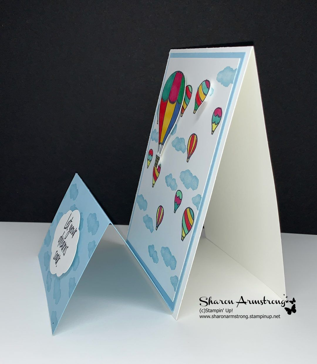 How To Make A Double Easel Card Step By Step With Easy