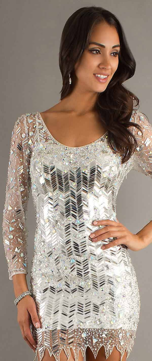 1000  images about New Years Eve Dresses on Pinterest  Metallic ...