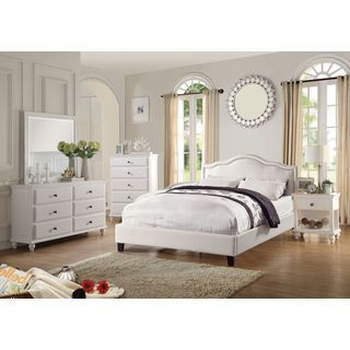 Shop for Barton White 6 Piece Bedroom Set. Get free delivery at Overstock.com - Your Online Furniture Shop! Get 5% in rewards with Club O! - 19687052