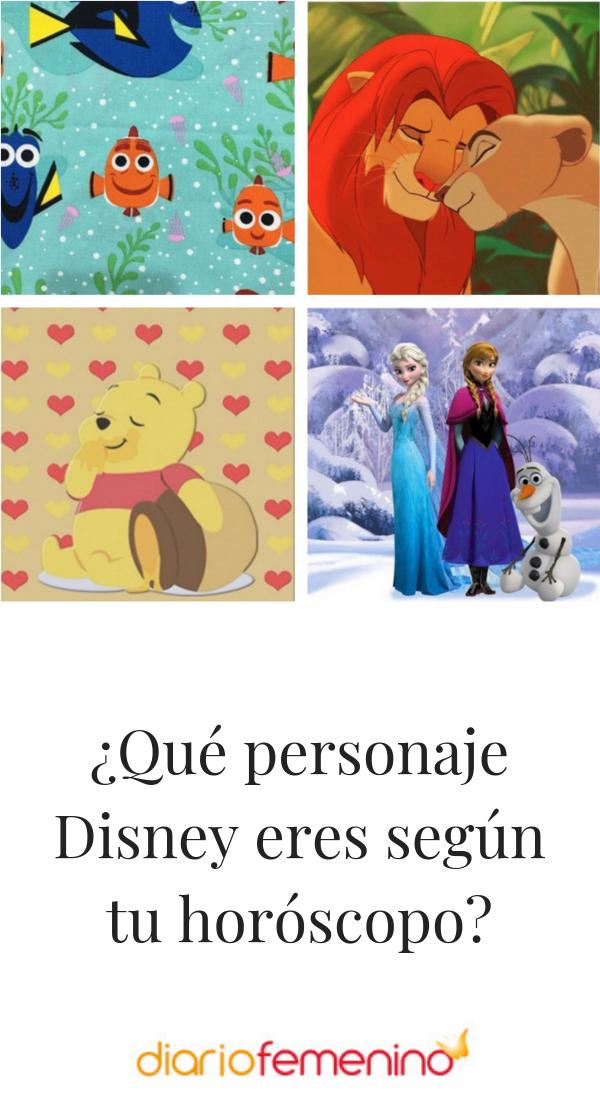 Que Personaje Disney Eres Segun Tu Horoscopo Personajes Disney Personajes Horoscopos