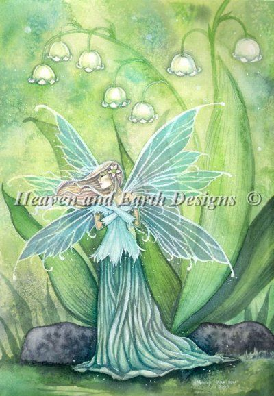 Lily of the Valley Fairy by Molly Harrison