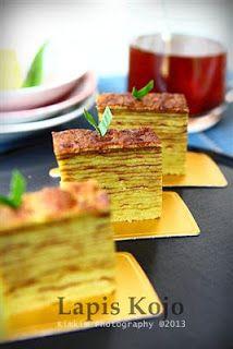 Ncc Jajan Tradisional Indonesia Week Kue Lapis Kojo Khas Palembang Makanan Manis Kue Lapis Makanan Jalanan