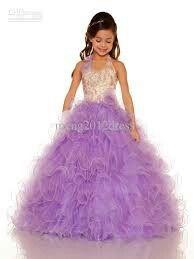 Cool purple dress