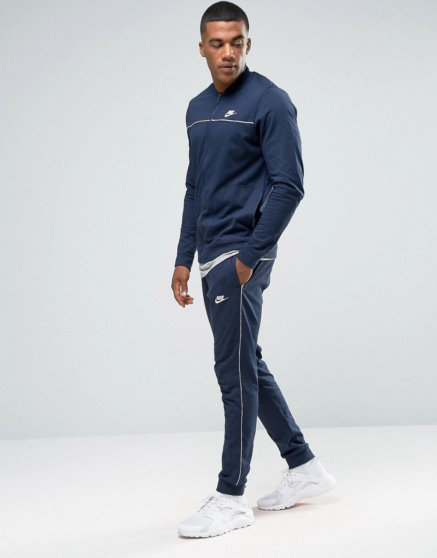 reputable site 35609 95f8f Image 1 of Nike Tracksuit Set In Blue 804308-451