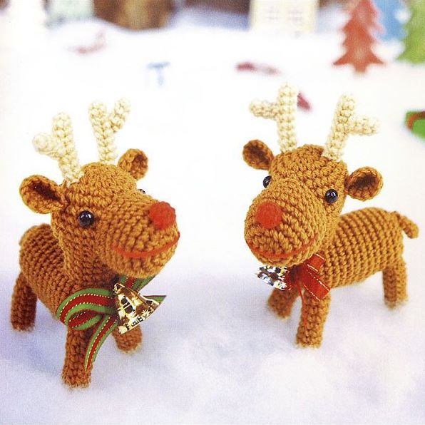 Christmas reindeers amigurumi | CROCHET HOLIDAYS - FREE PATTERNS ...
