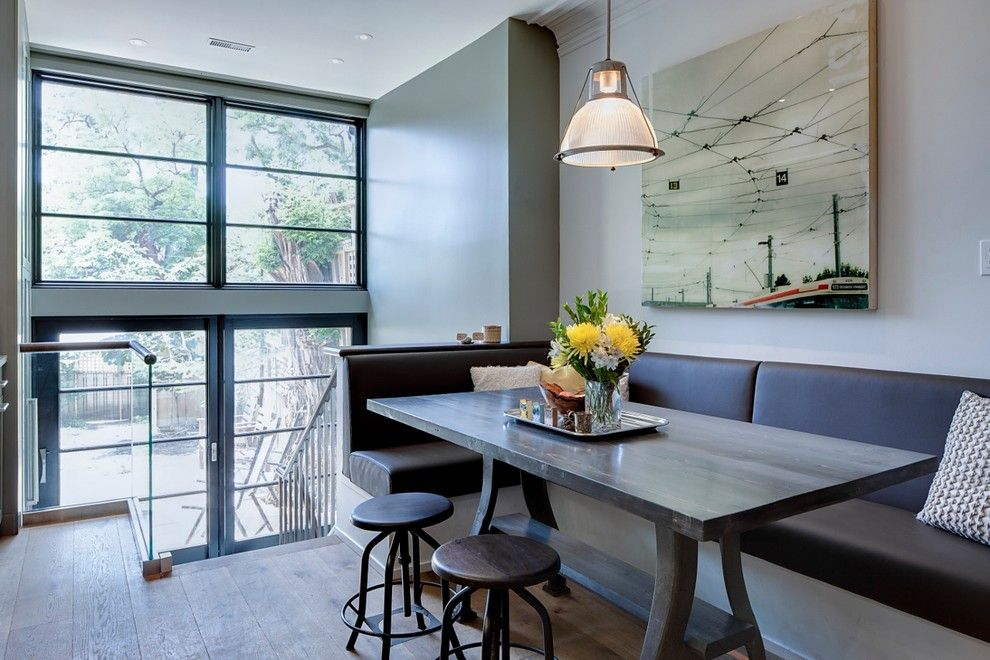 Modern Dining Room With Banquette Seating Banquette Dining Set, Dining Bench,  Kitchen Benches,