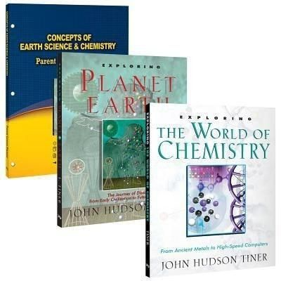 Master Books Concepts Of Earth Science Chemistry Set 6th 8th