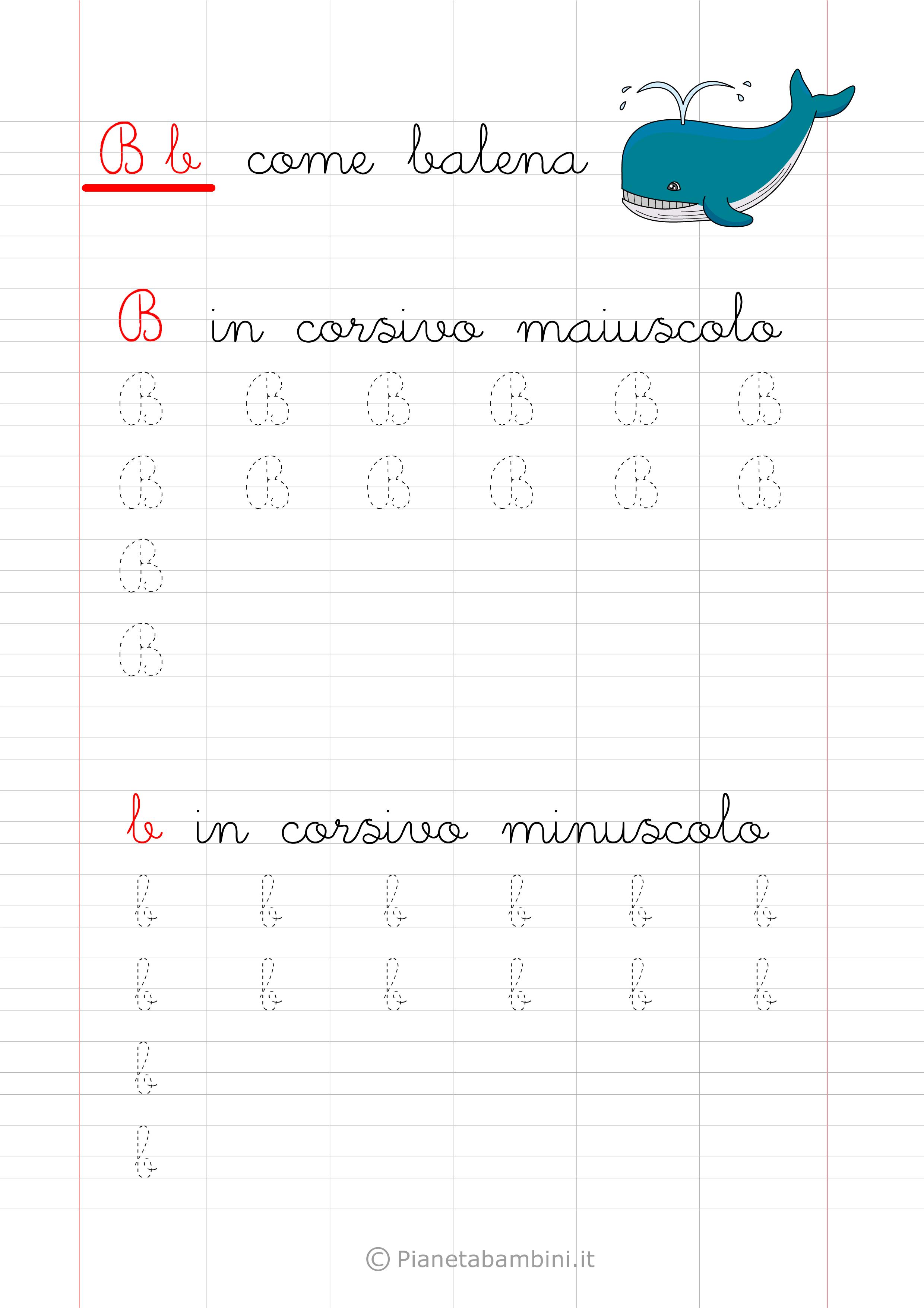 Ben noto Pregrafismo-Lettera-B-Corsivo.png (2480×3508) | seconda italiano  LC42