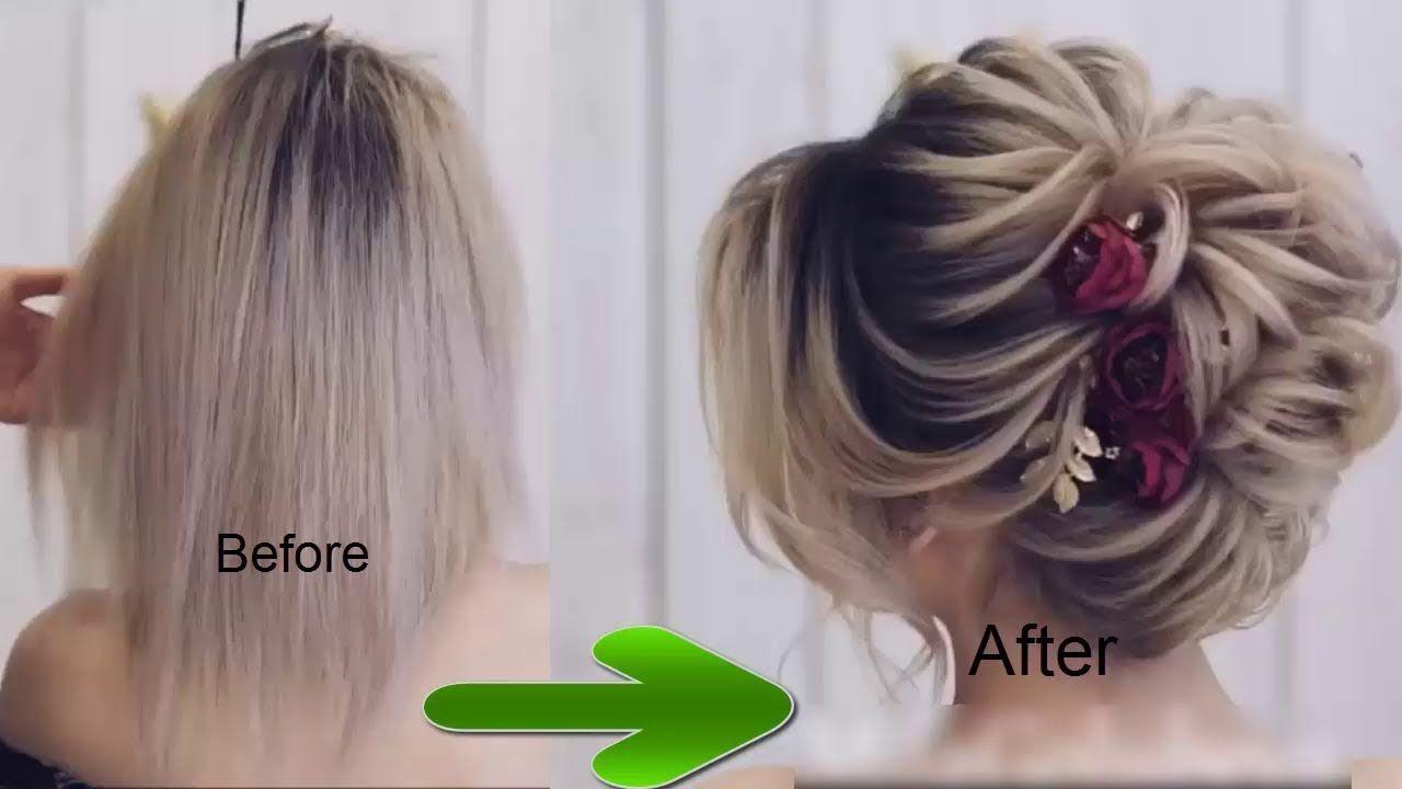 Hairstyles For Thin Hair Women Cute Hairstyles For Thin Hair For Wedding Party Thin Hair Styles For Women Hair Styles Braided Hairstyles For Wedding