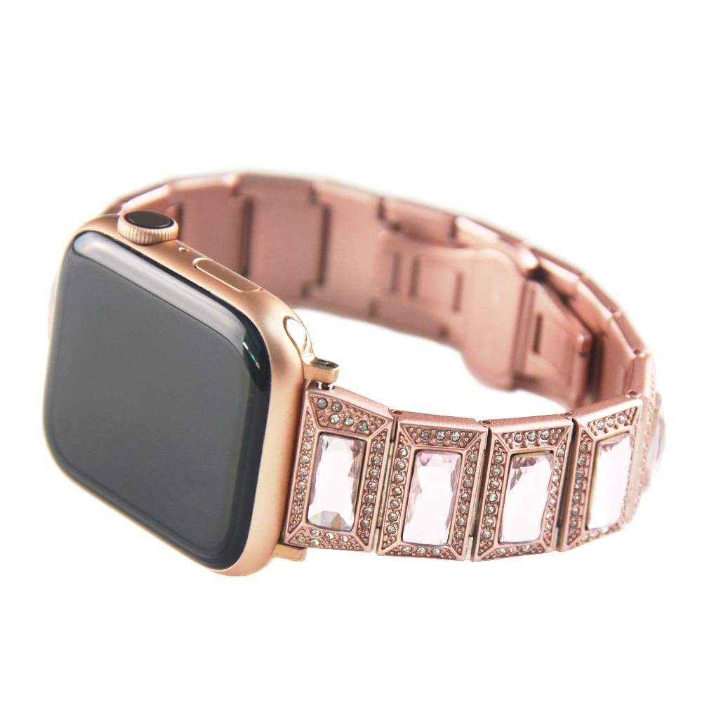 Apple Watch Series 5 4 3 2 Band, Luxury Diamond Bling for