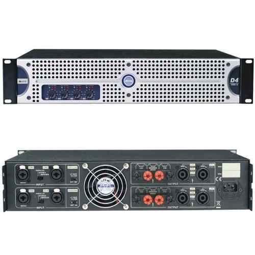 Amplificador De Potencia Alto D4 4 Canais Amplificador Alto