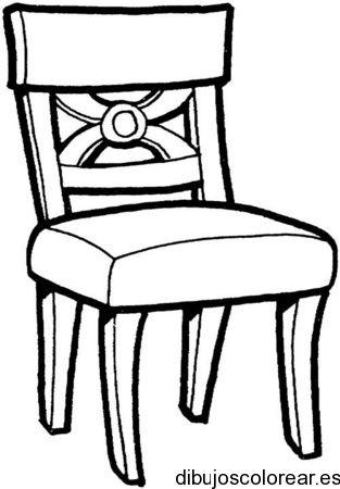 dibujos para una silla de niño
