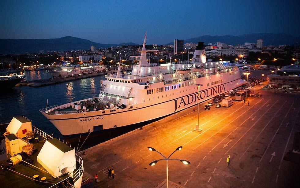 Split To Ancona Ferry 2018 Timetable Croatia Travel Travel Information Travel