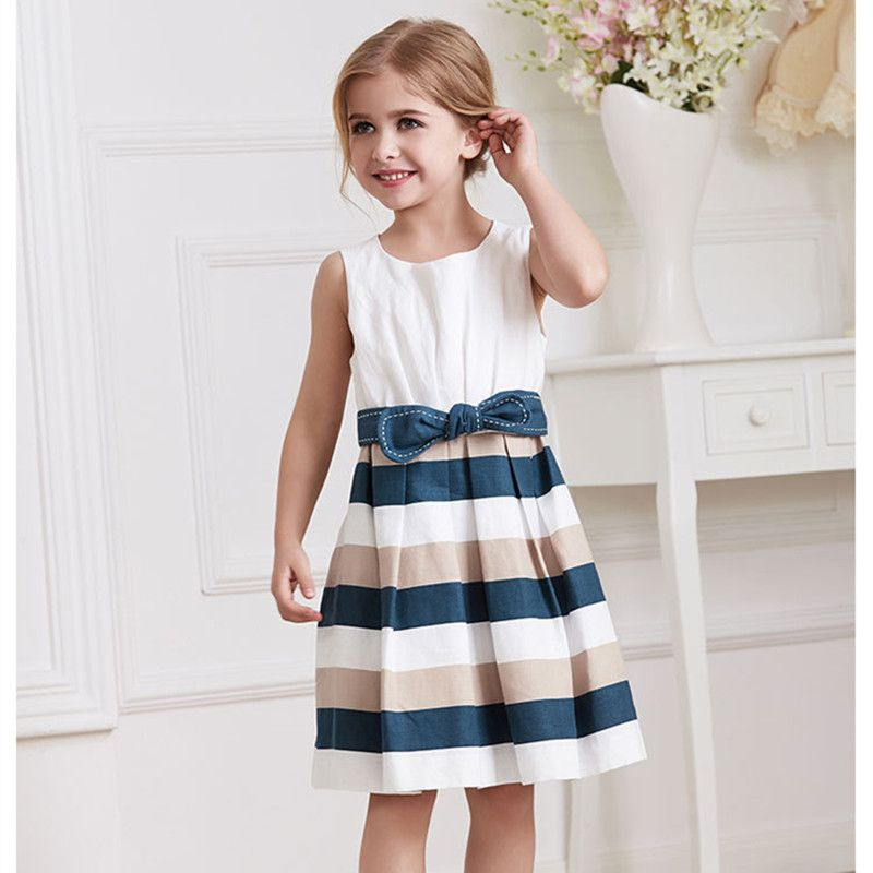 Little Girl Summer Dress 2016 Baby Girls Clothes Kids Party ...