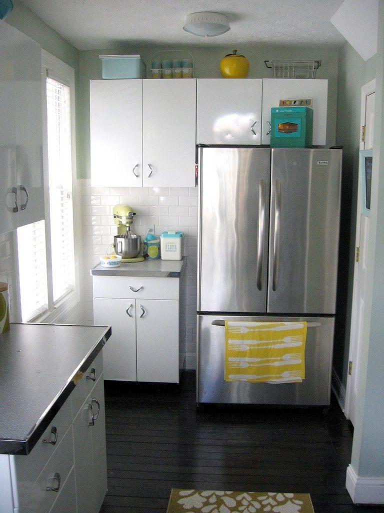 Carolyn S 1940 S Kitchen Makeover 1940s Kitchen Metal Kitchen Cabinets Retro Kitchen