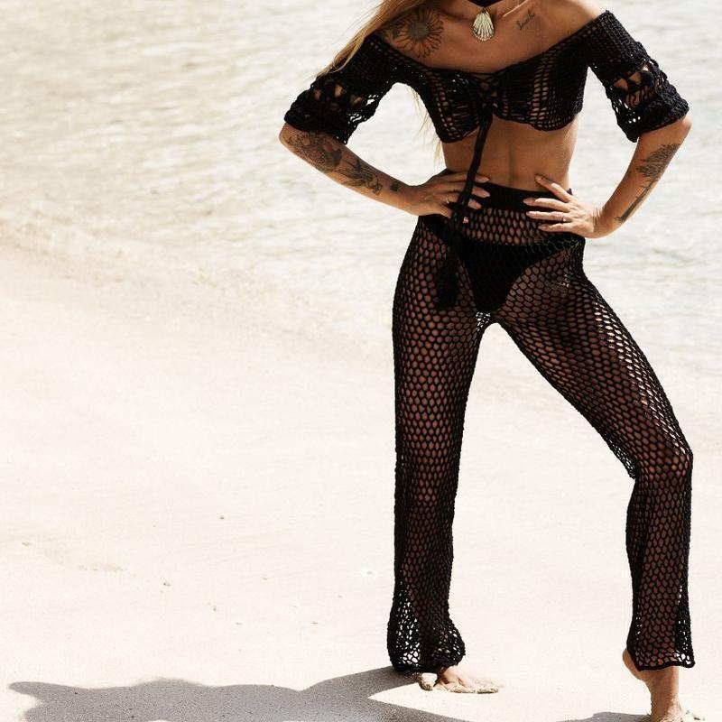 730640335f Harper Beach Pants | Products | Beach pants, Lace pants, Crochet pants