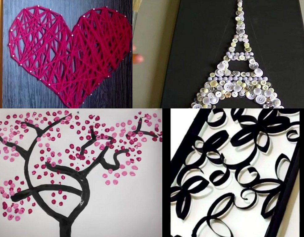 4 cuadros que querr s decorar hacer para tus paredes - Como decorar un cuadro ...