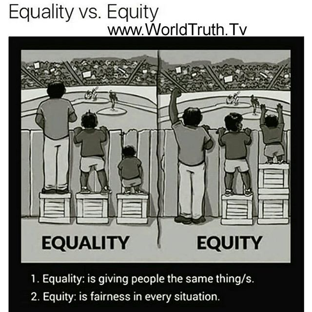 Equality Vs Equity Worldtruthtv Social Justice Equality Instagram Posts