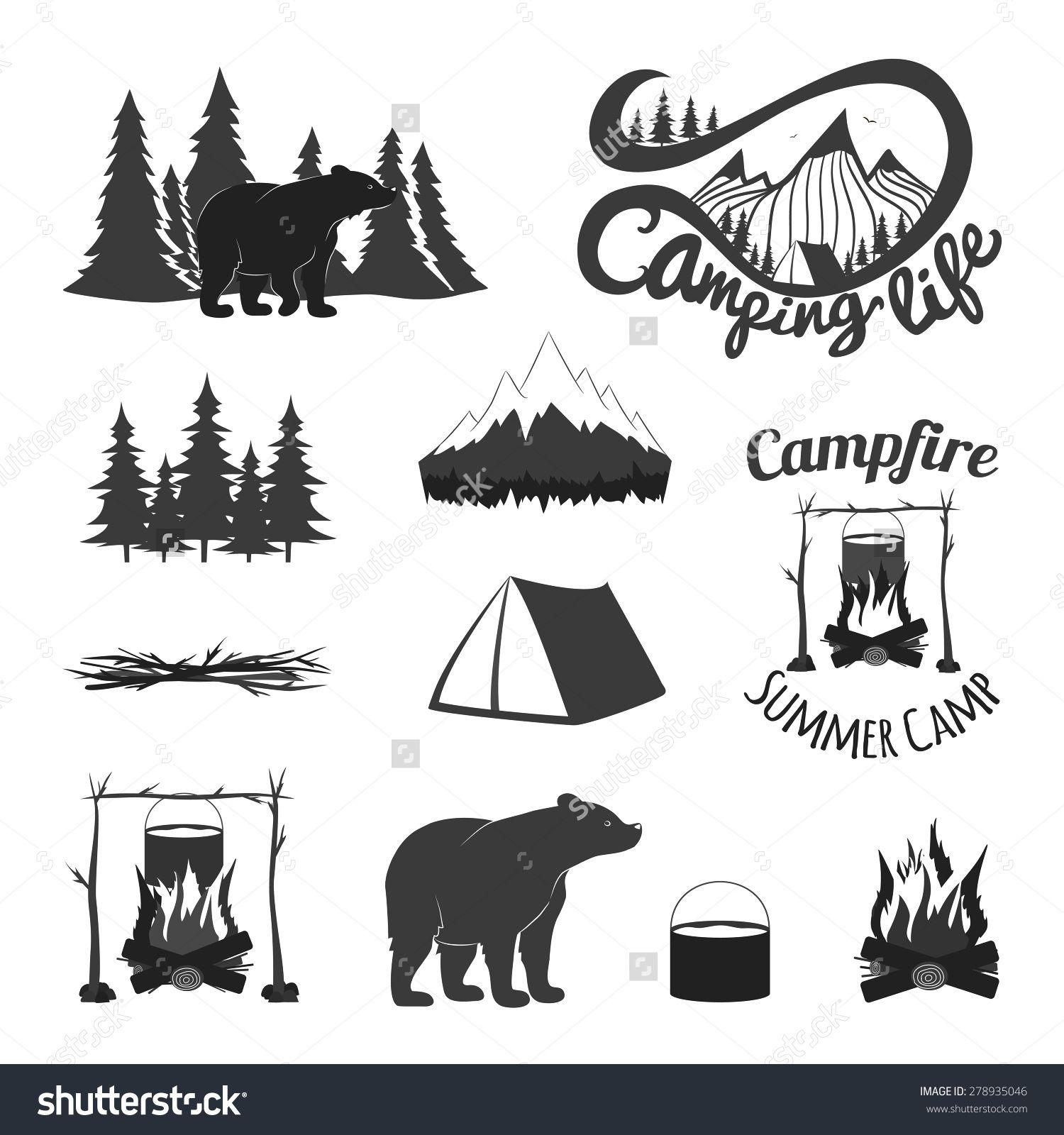 Image result for vintage tent illustration | High Camp ...