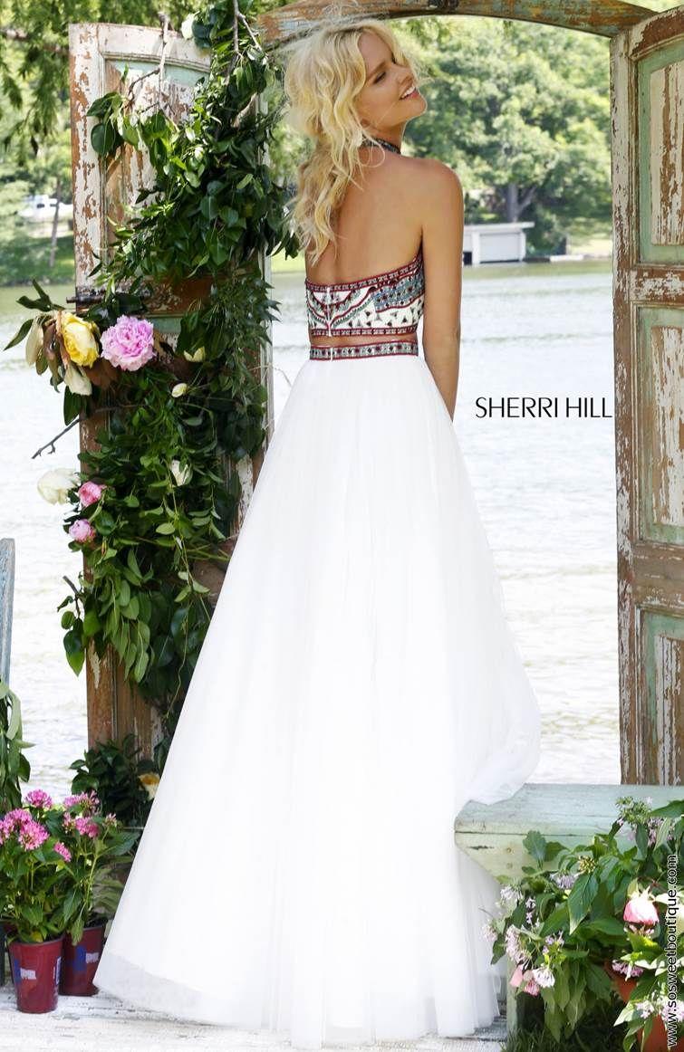 Sherri hill lace wedding dress  Sherri Hill Prom Dresses  Style   dresess  Pinterest