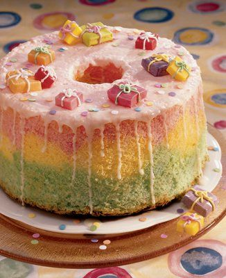 angel food birthday cake ideas Angel Food Birthday Cake Recipes