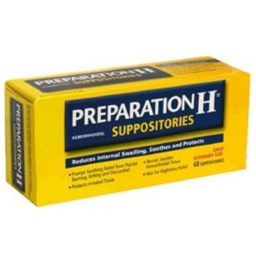 Preparation H (yep the hemorrhoid cream) can also be used ...