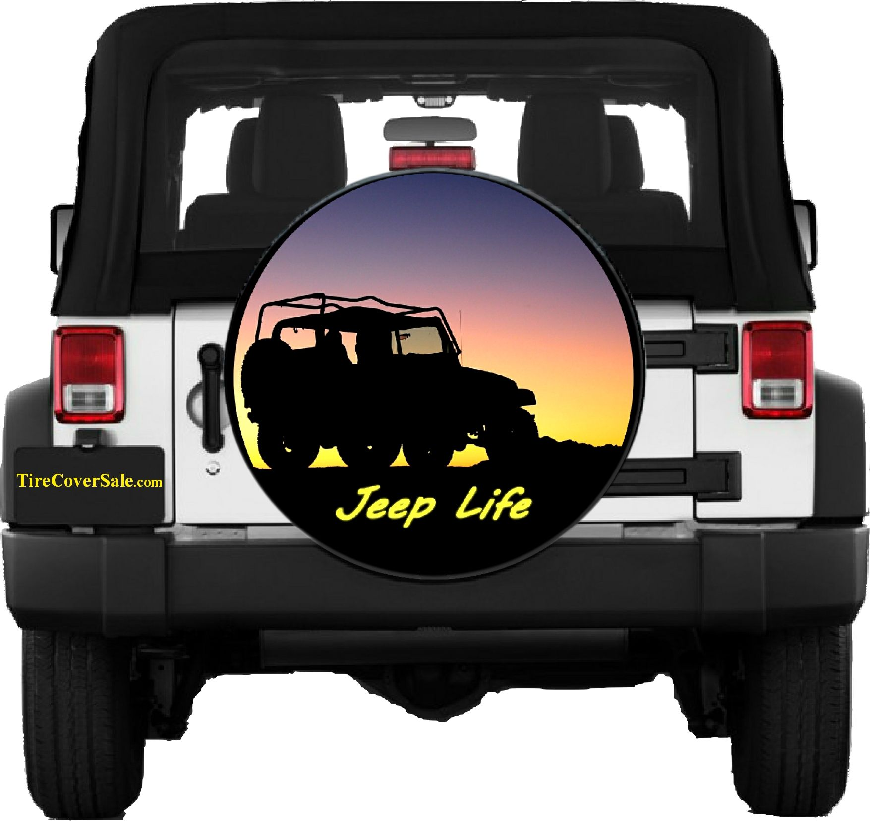 Photo Quality Printing On Marine Grade Vinyl Exact Fit Design Optional Anti Theft Cable Free 2 Year Warranty Made In Tire Cover Jeep Life Spare Tire Covers