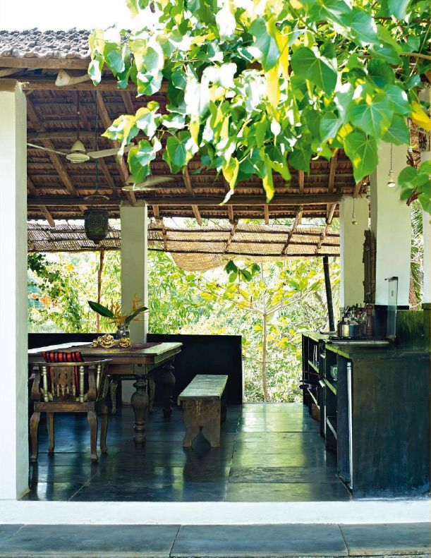 jade jagger goa house || ad magazine | ideen rund ums haus, Gartenarbeit ideen