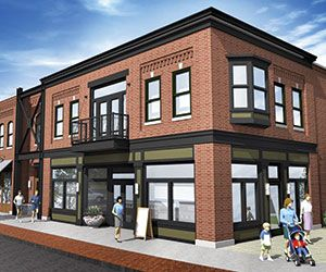 Change Ups Two Story Building Planned For Ada Village Mix Use