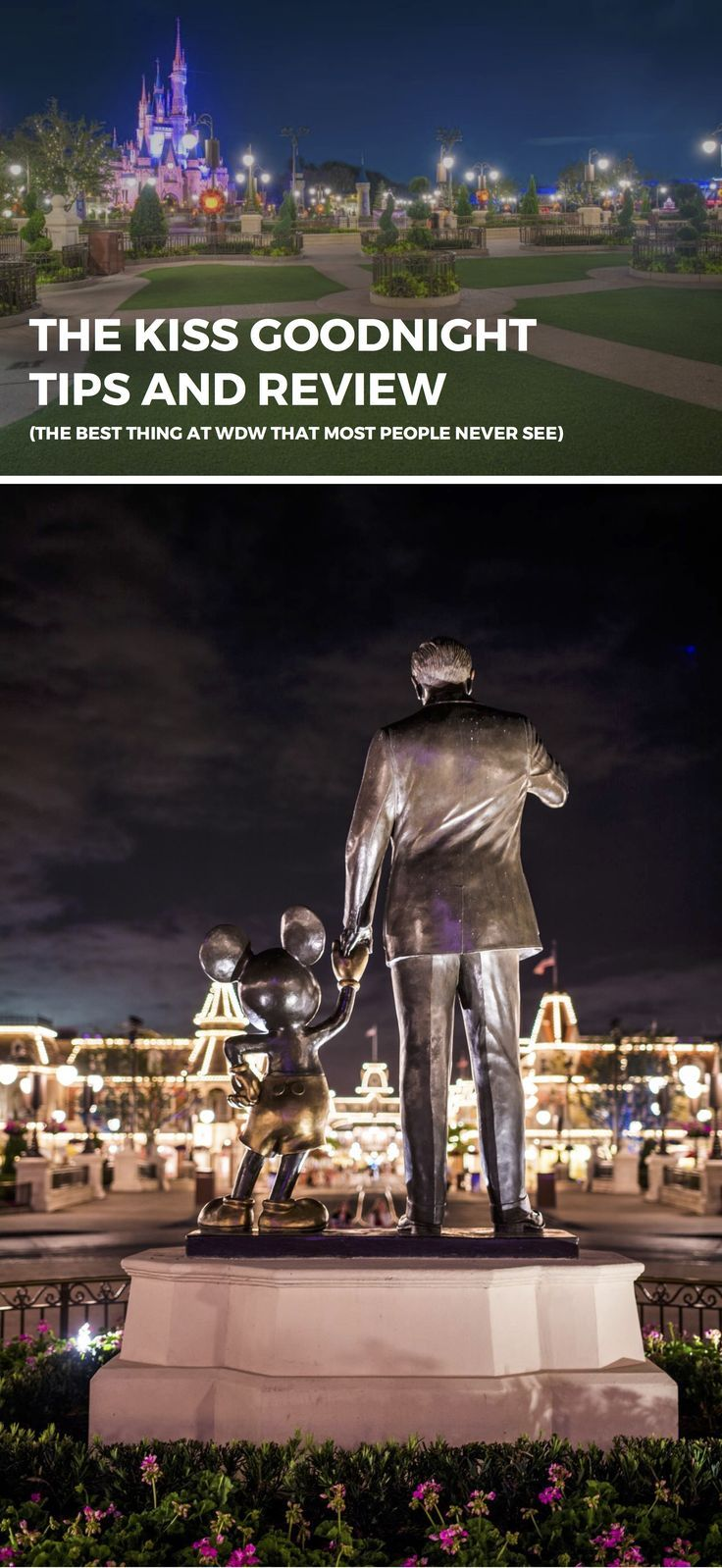 Have You Seen The Disney Magic Cruise Ship: Walt Disney World's The Kiss Goodnight Tips And Review